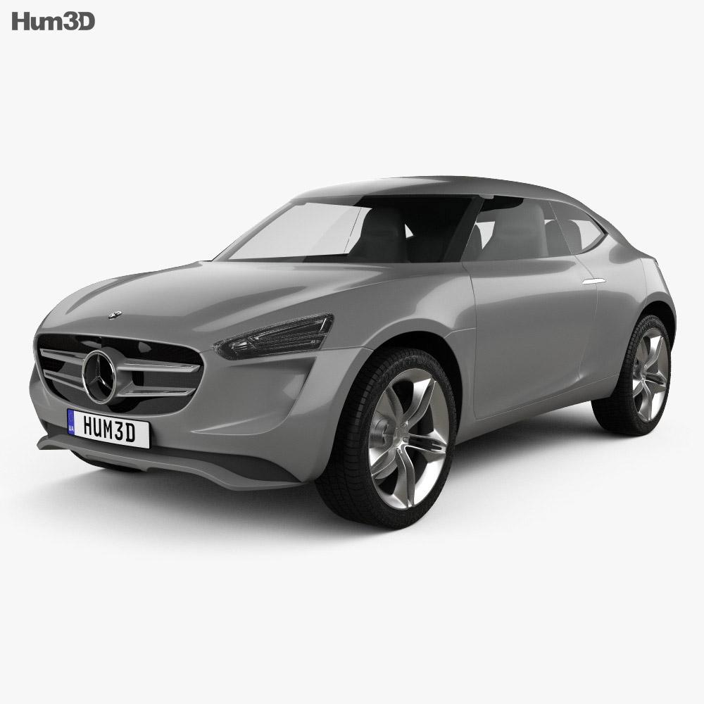 Mercedes-Benz Vision G-Code 2014 3d model