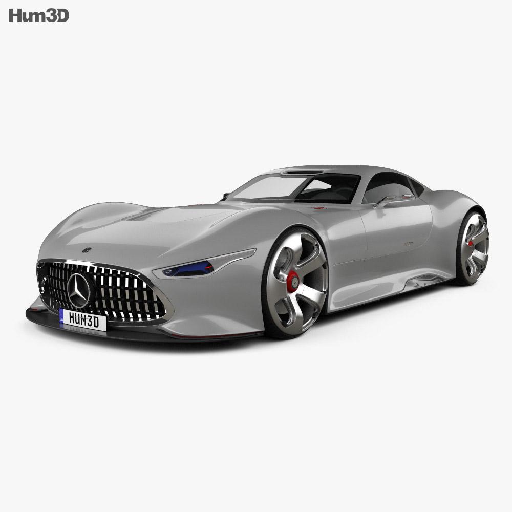 Mercedes-Benz AMG Vision Gran Turismo 2013 3d model