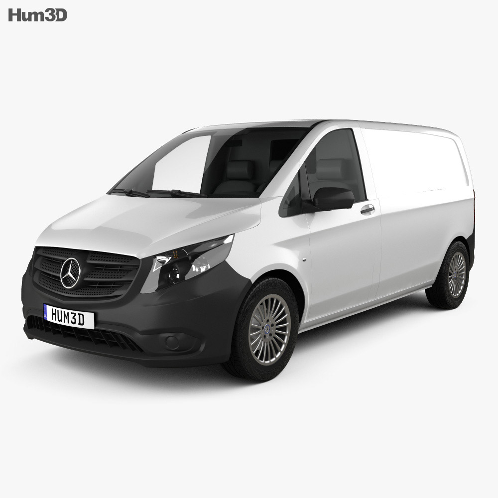 mercedes benz vito w447 panel van l1 2014 3d model hum3d. Black Bedroom Furniture Sets. Home Design Ideas