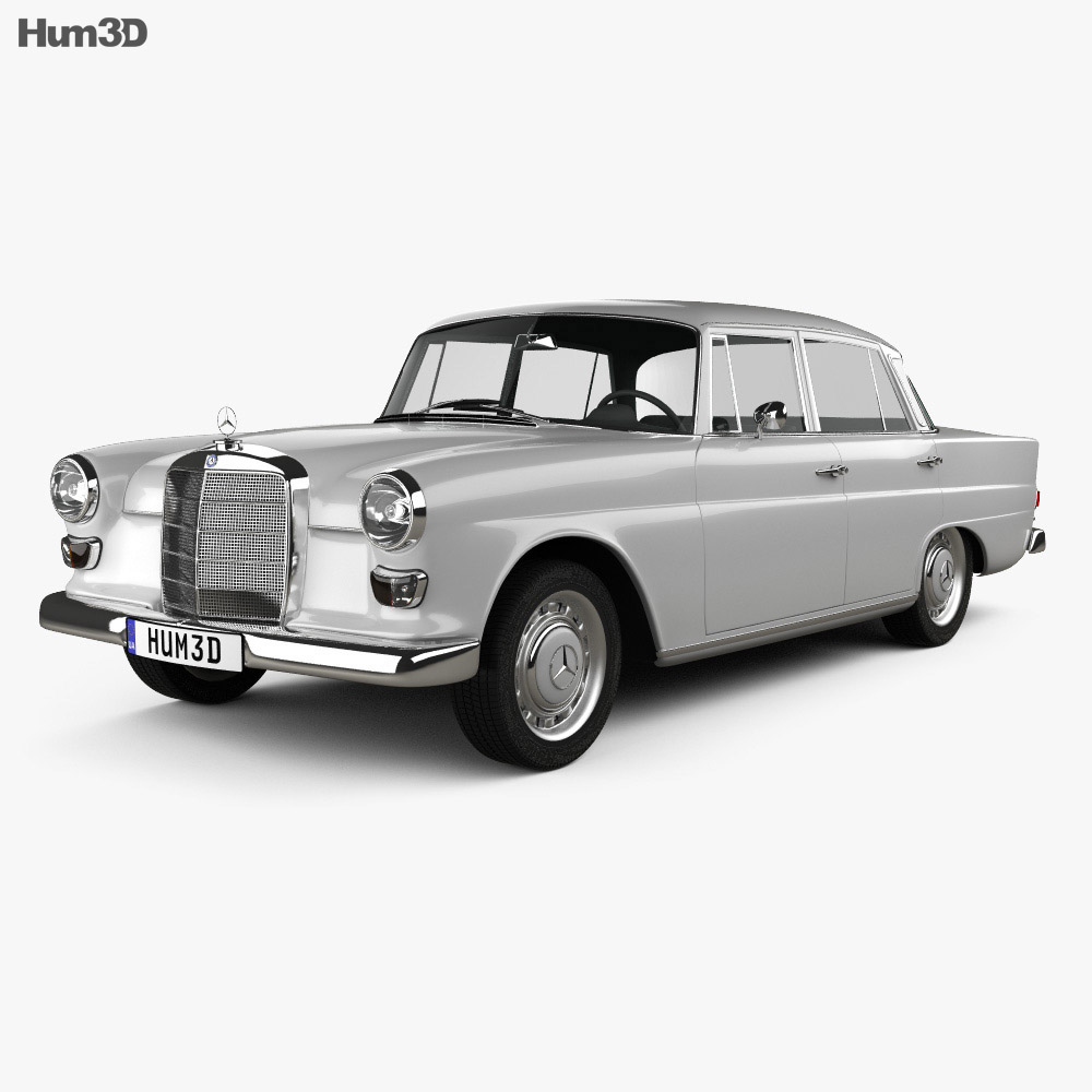 Discount Mercedes Parts >> Mercedes-Benz W110 1966 3D model - Humster3D