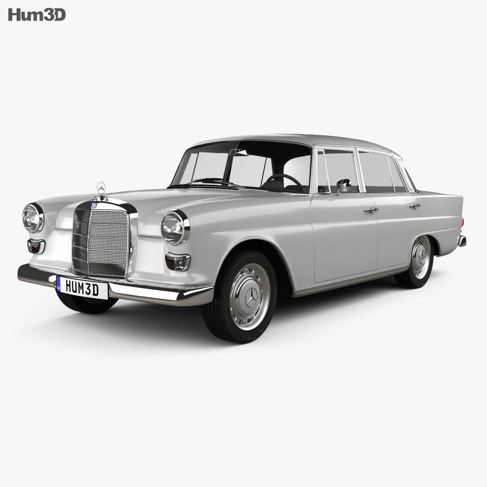 Mercedes-Benz W110 1966 3d model