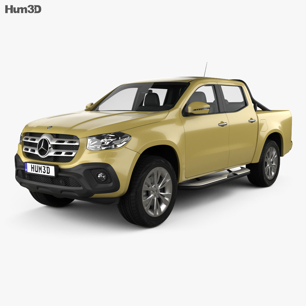 Mercedes-Benz X-Class Progressive 2017 3d model