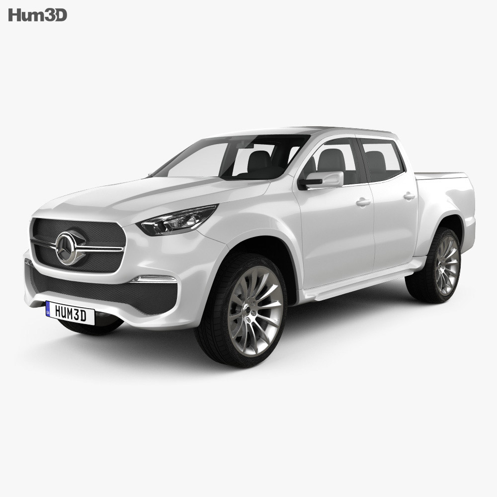 Mercedes-Benz X-class concept stylish explorer 2017 3d model