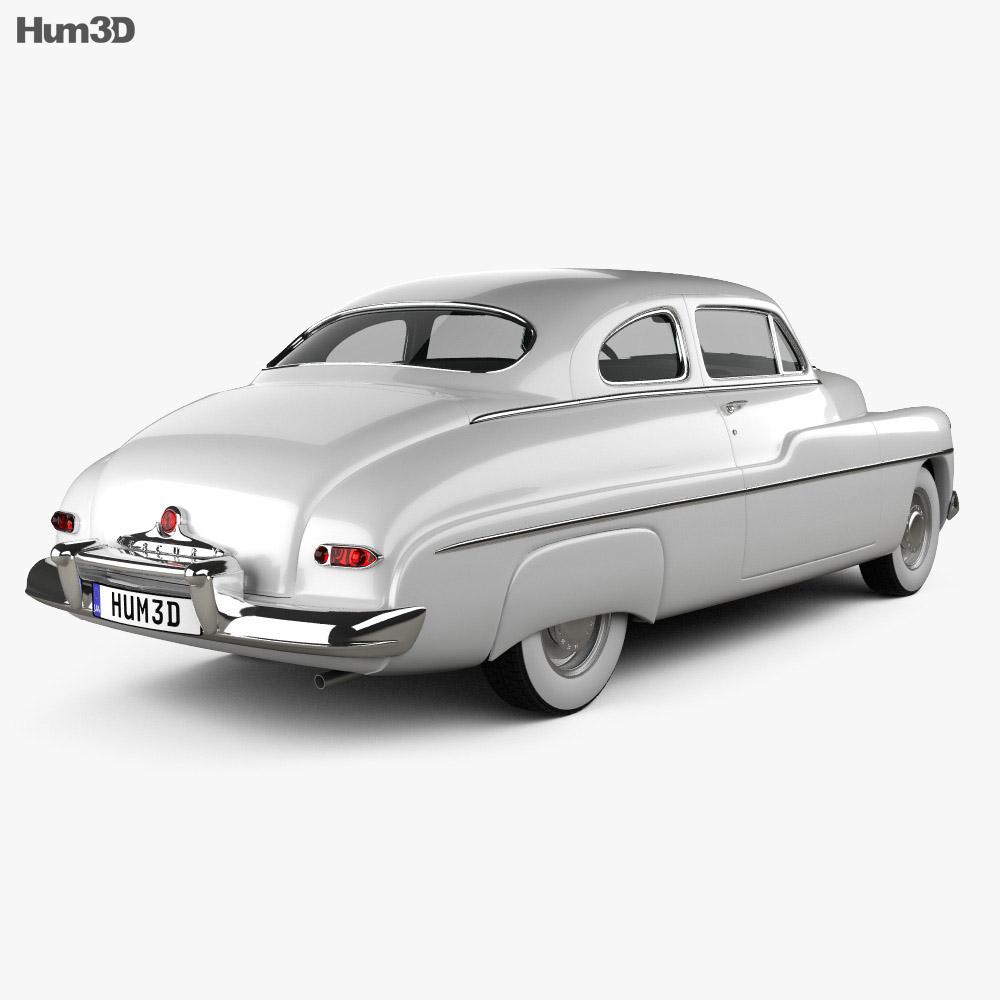 Mercury Eight Coupe 1949 3d model