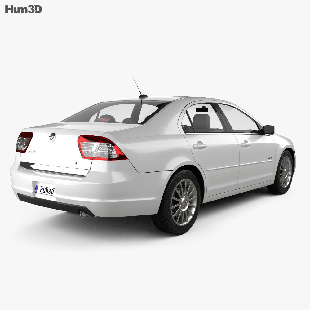 Mercury Milan 2006 3d model