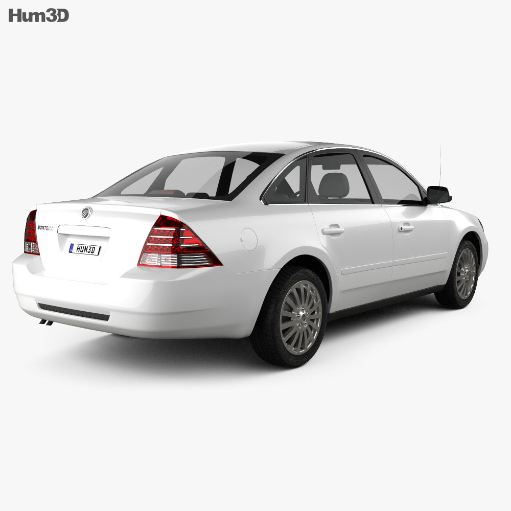 Mercury Montego 2007 3d model