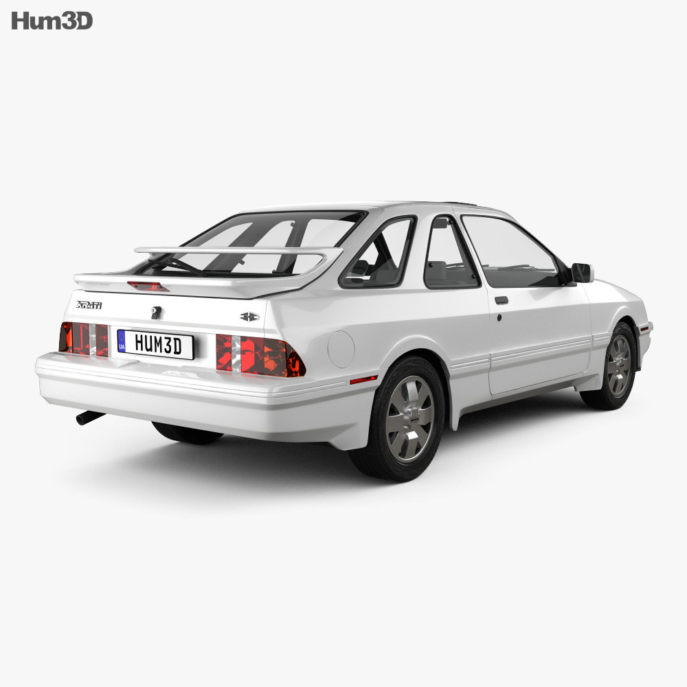Merkur XR4Ti 1985 3d model