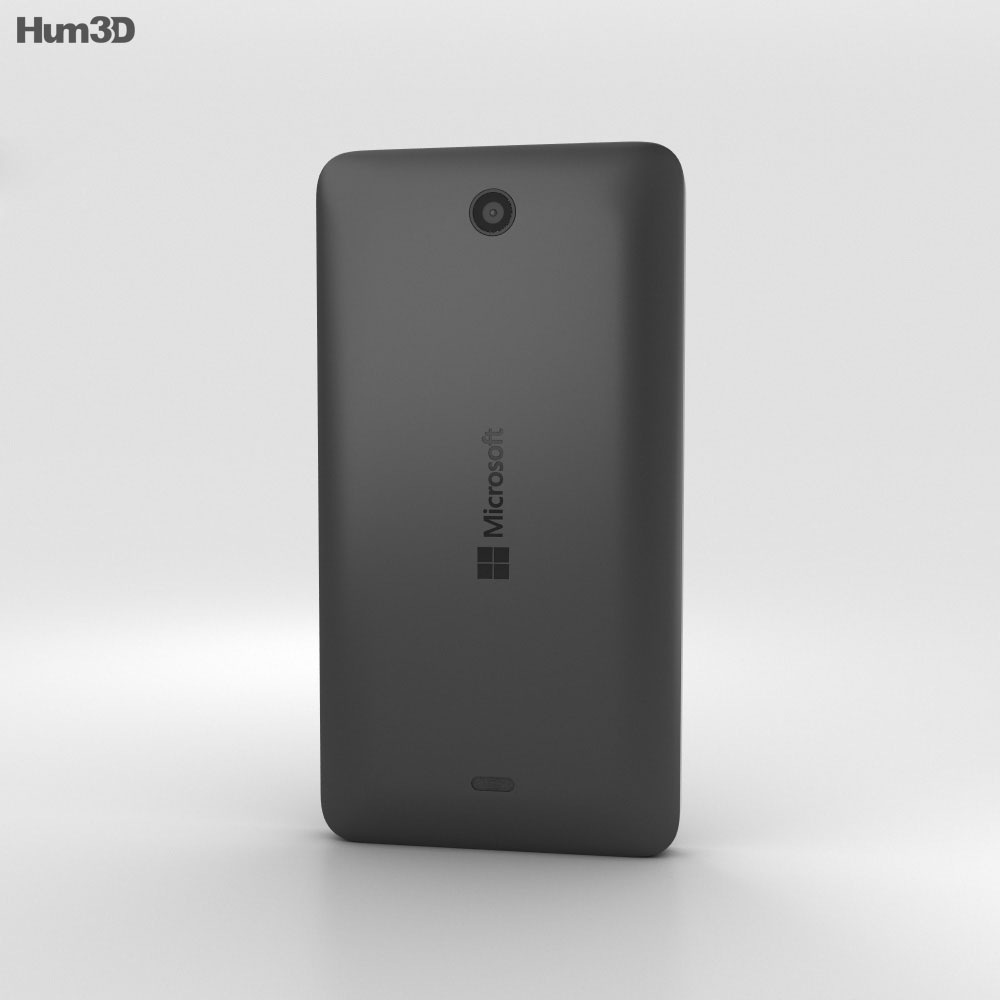 Microsoft Lumia 430 Black 3d model