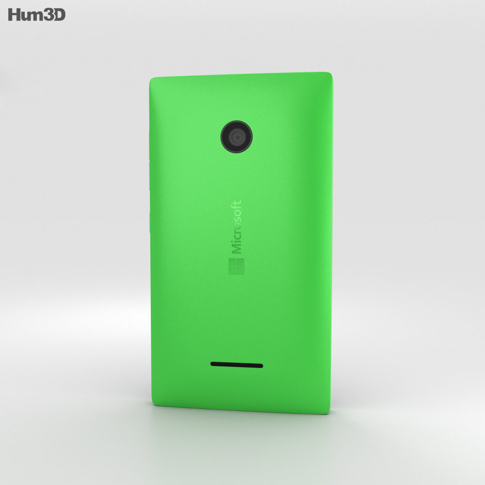 Microsoft Lumia 435 Green 3d model