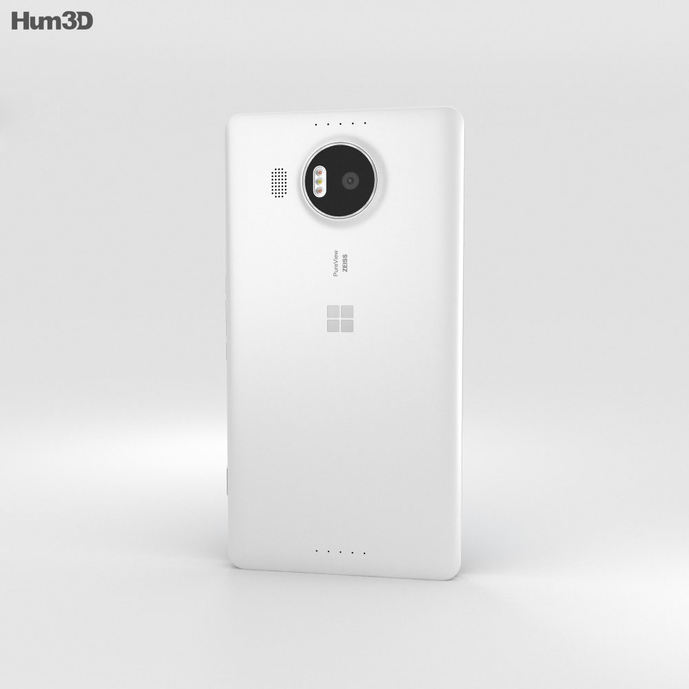 Microsoft Lumia 950 XL White 3d model