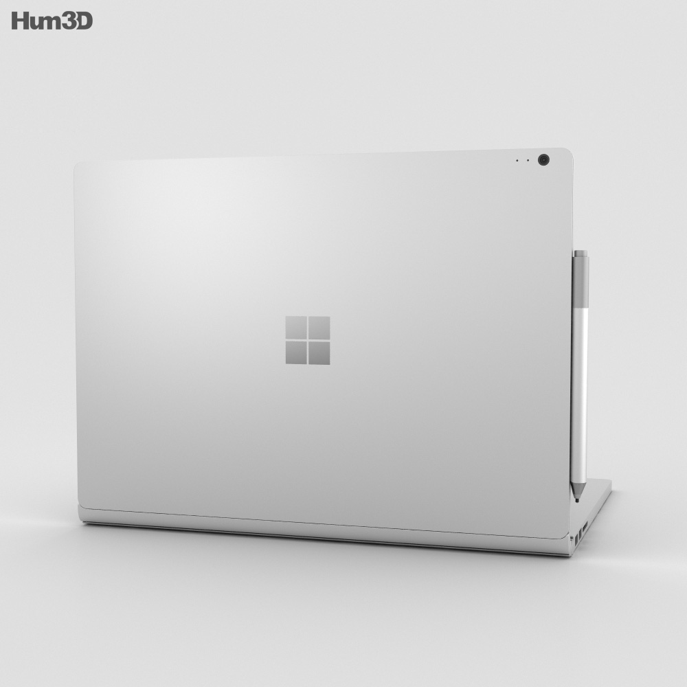 Microsoft Surface Book 2 13.5-inch (i7) 3d model