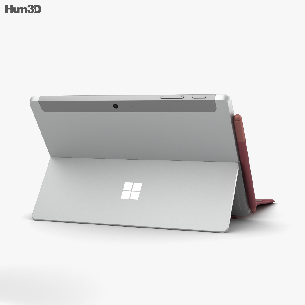 Microsoft Surface Go 3d model