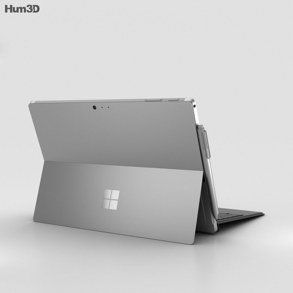 Microsoft Surface Pro 4 Black 3d model