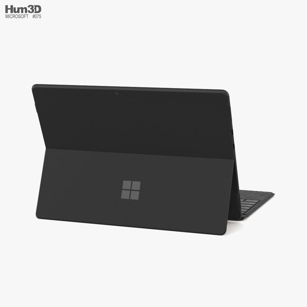 Microsoft Surface Pro X 3d model