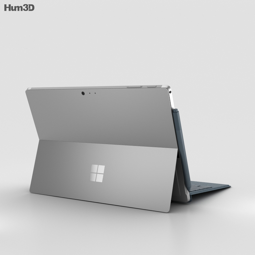 Microsoft Surface Pro (2017) Cobalt Blue 3d model