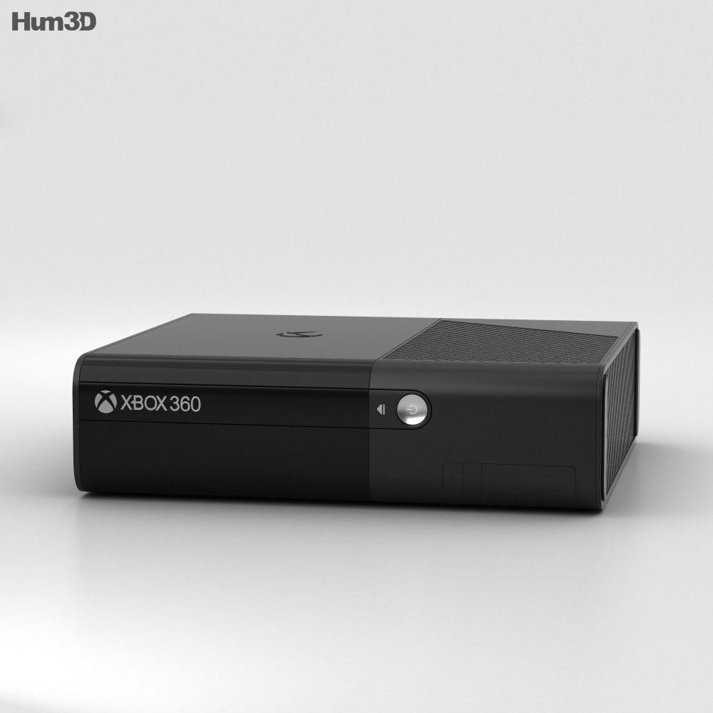 Microsoft Xbox 360 E 3d model