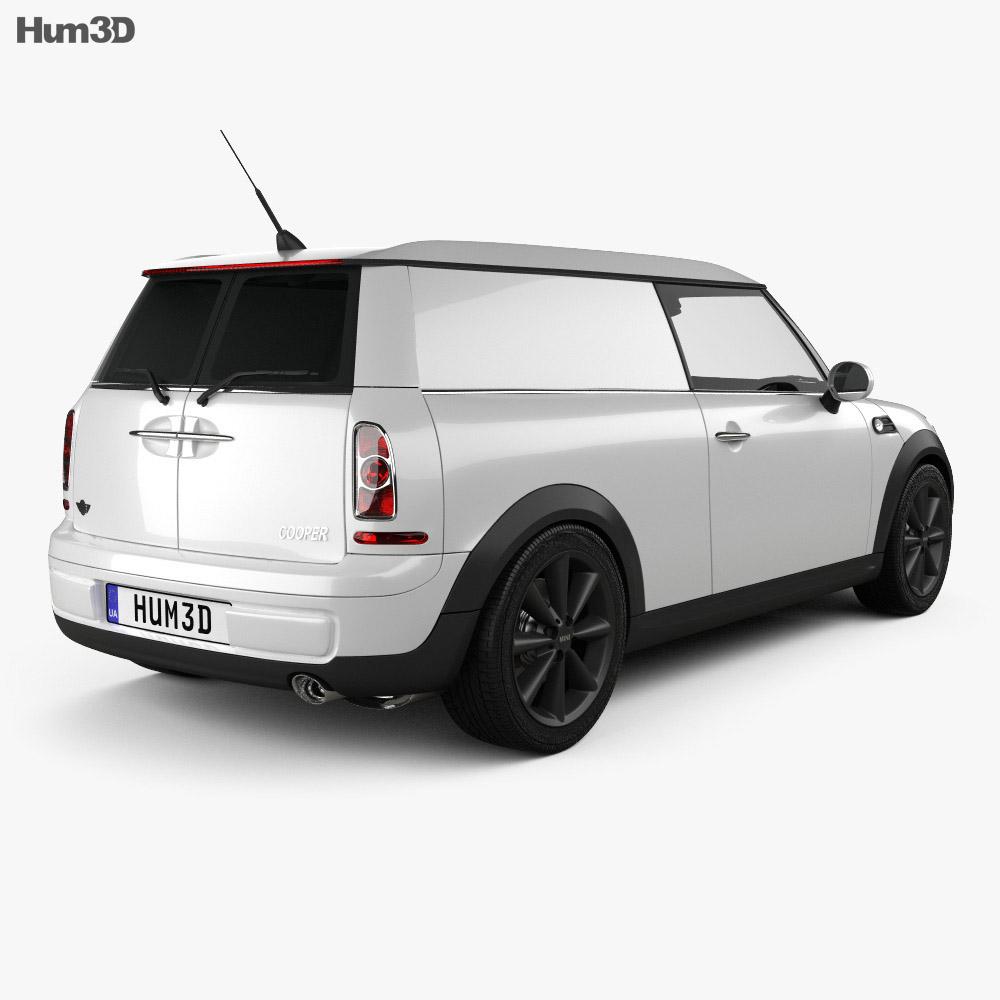 Mini Clubvan 2013 3d model