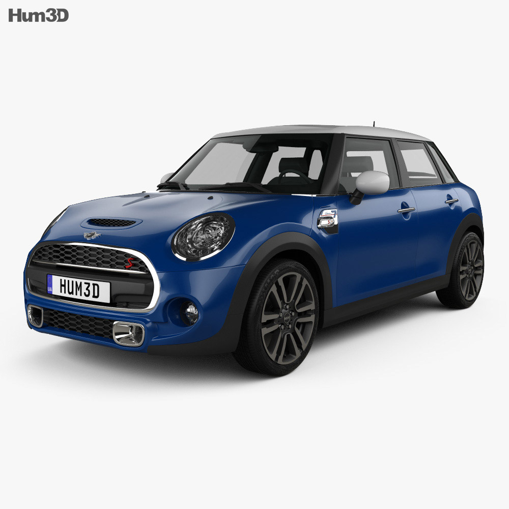 Mini Cooper S Seven F56 5 Door 2016 3d Model Vehicles On Hum3d