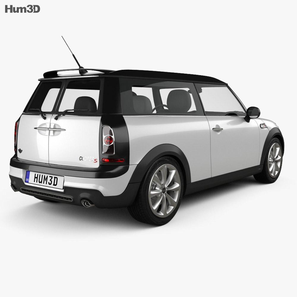 Mini Cooper S Clubman 2011 3d model