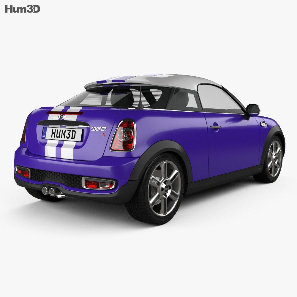 Car For Sale 2013 Mini Cooper 2 Seater Convertible In: Mini Cooper S Coupe 2013 3D Model