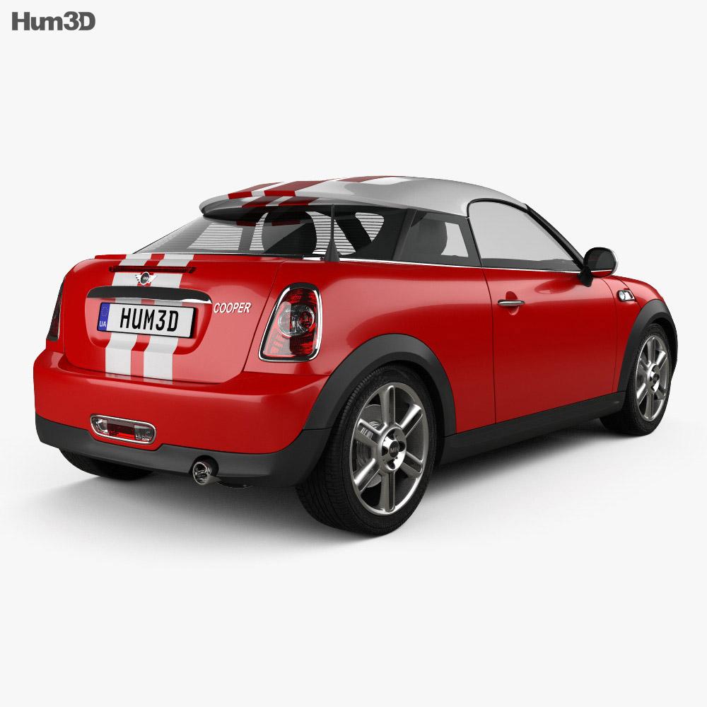 Mini Cooper coupe 2013 3d model