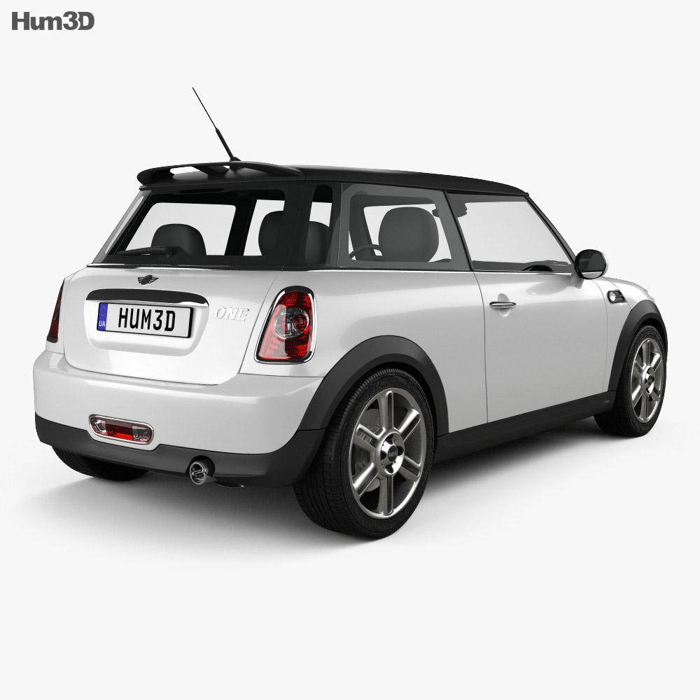 Mini One Hardtop 2011 3d model