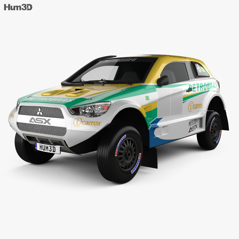Mitsubishi ASX Dakar Racing 2014 3d model