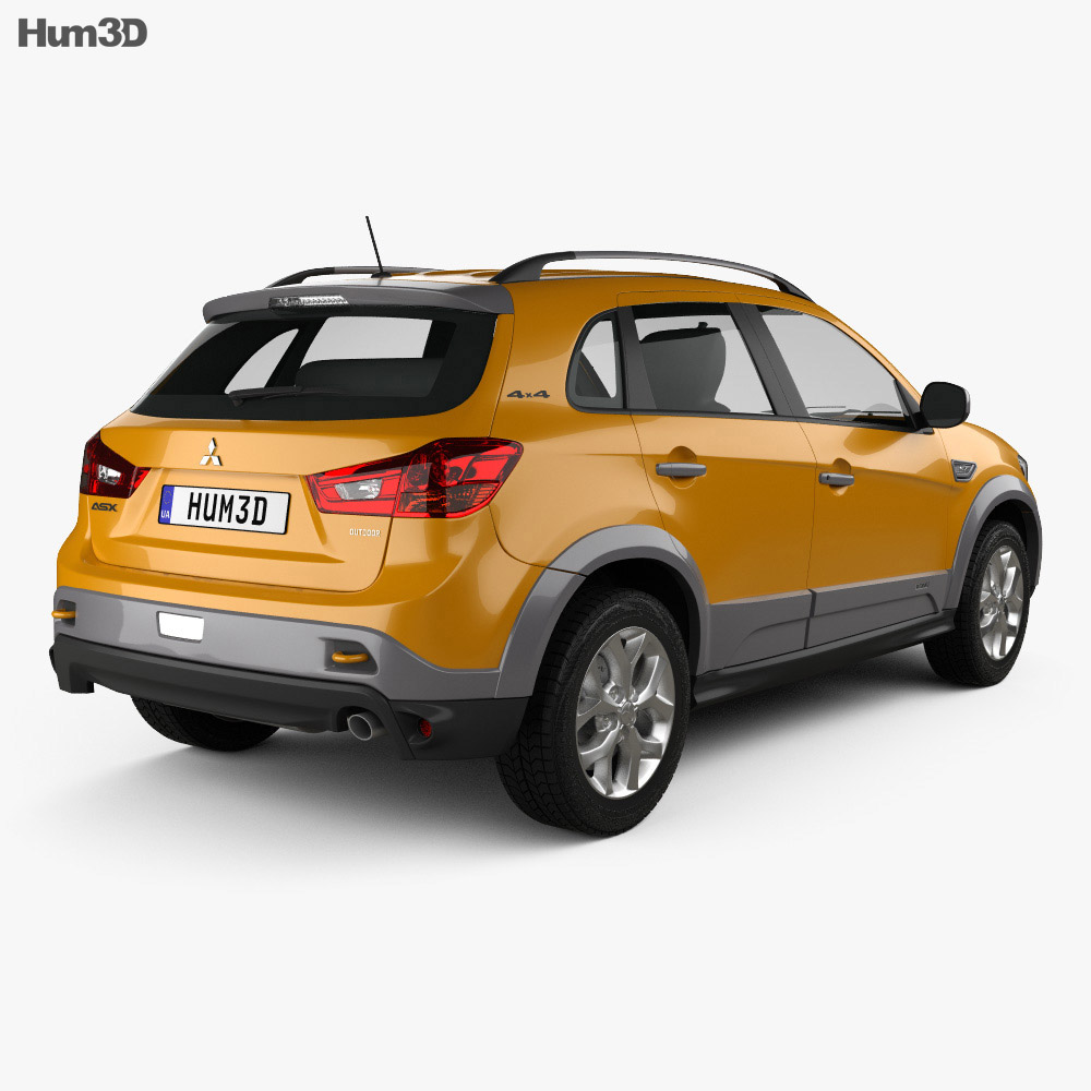 Mitsubishi ASX Outdoor 2015 3d model