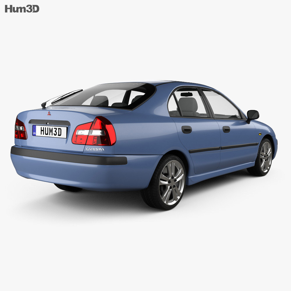 Mitsubishi Carisma liftback 2000 3d model