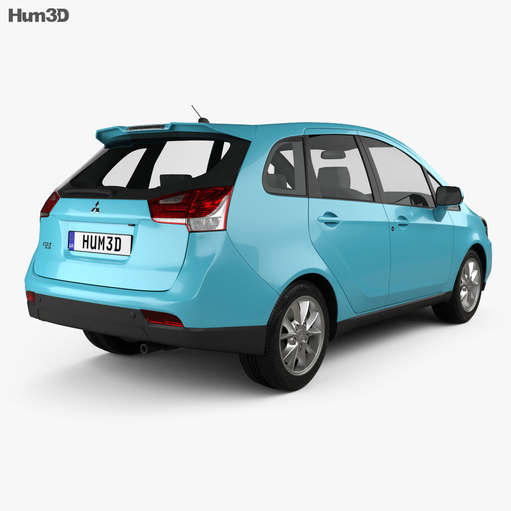 Mitsubishi Colt Plus (TW) 2013 3d model