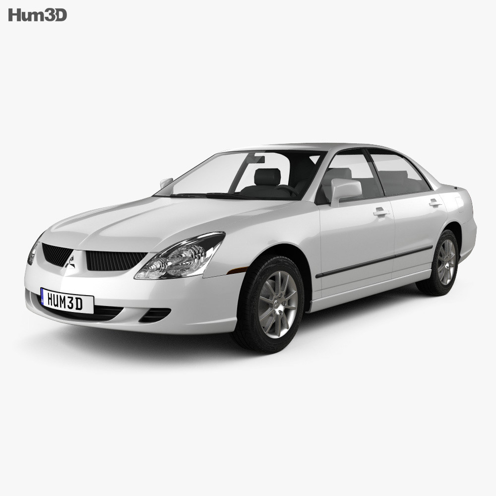 Mitsubishi Diamante 2004 3d model