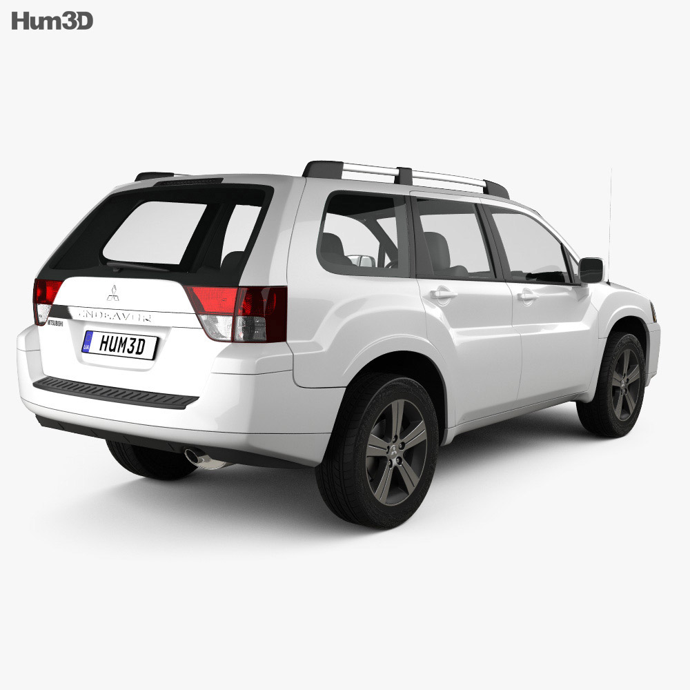 Mitsubishi Endeavor 2012 3d model