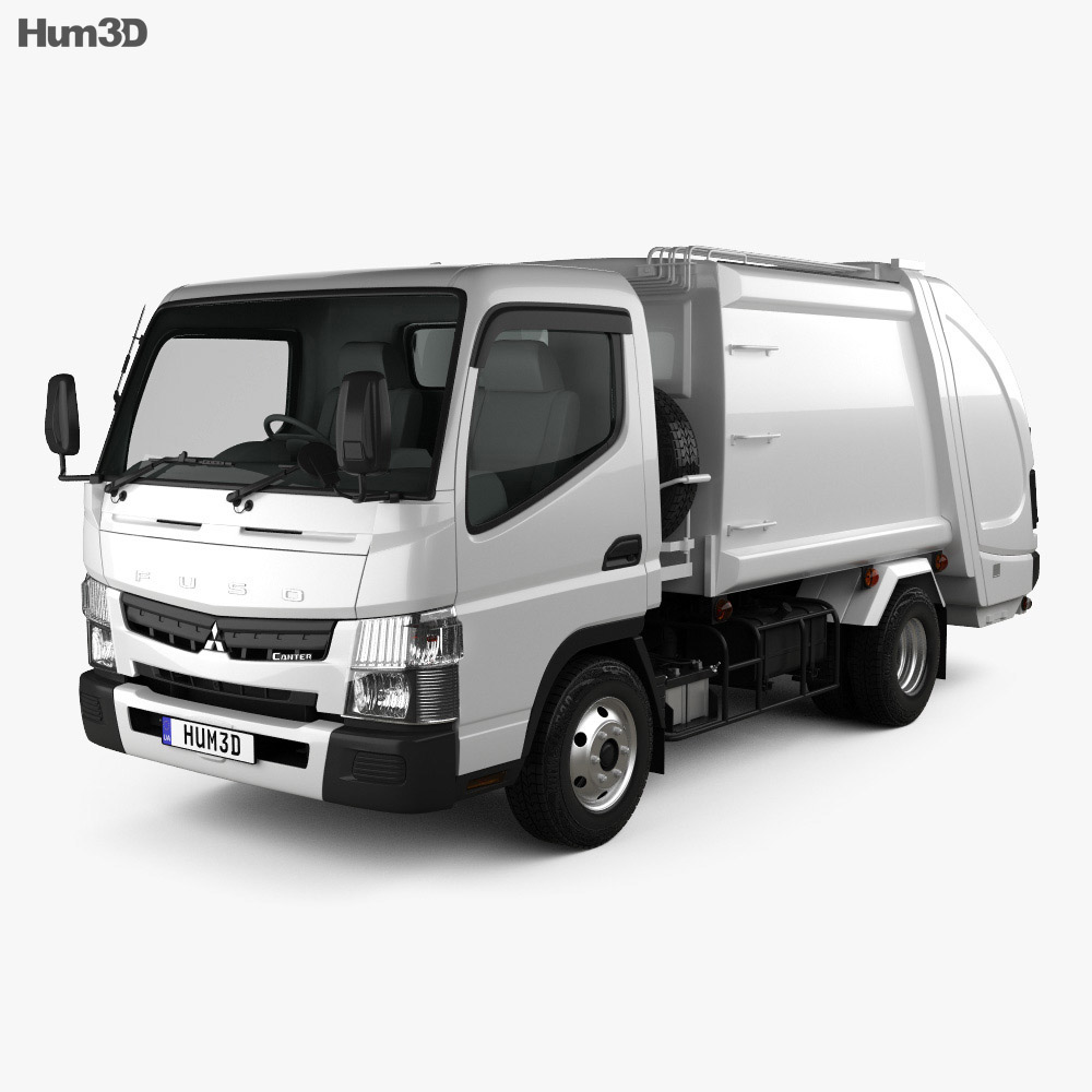 Mitsubishi Fuso Canter Shinmaywa Garbage Truck 2017 Model