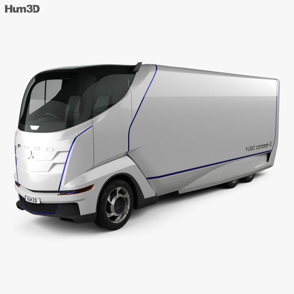 Mitsubishi Fuso Concept II Truck 2012 3d model
