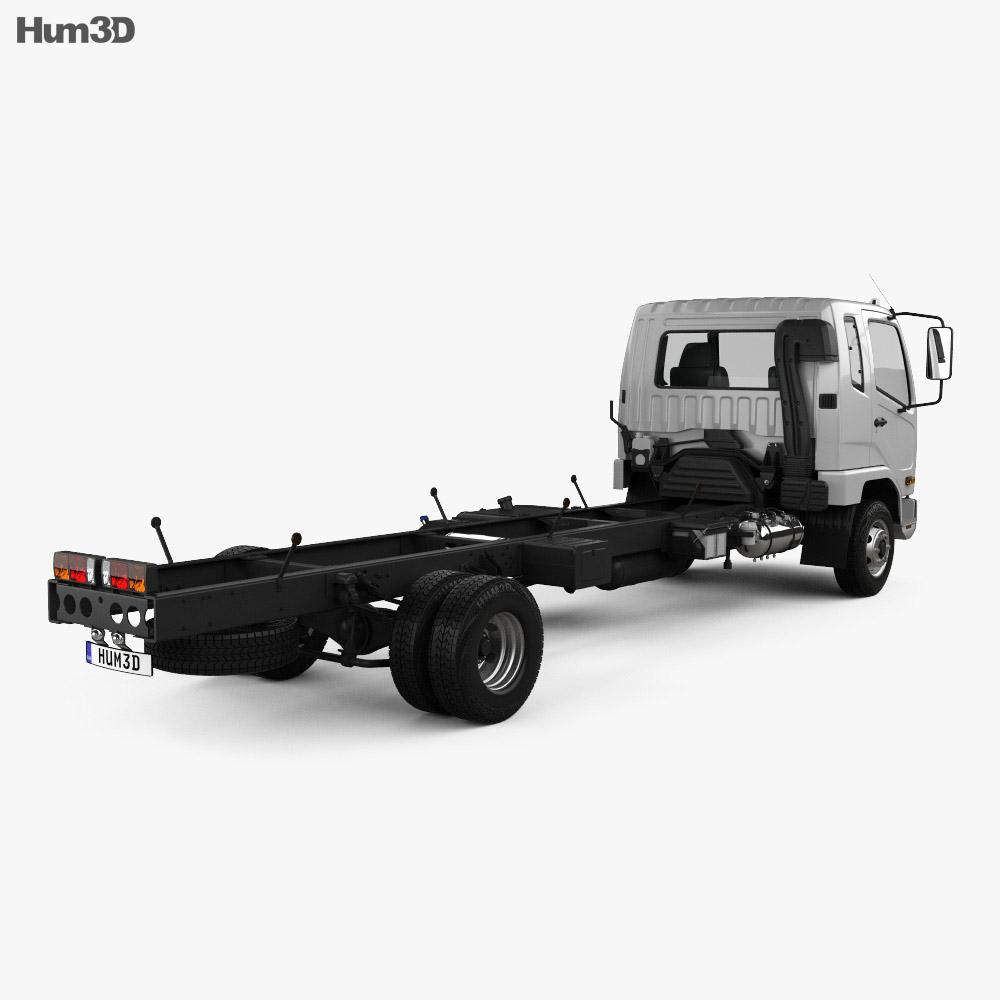 Mitsubishi Fuso Heavy Chassis Truck 2017 3d model