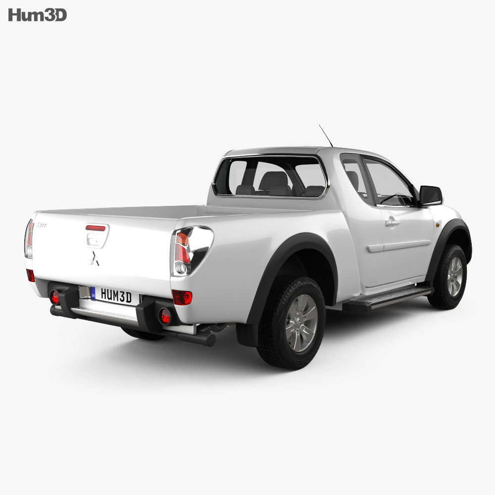 Mitsubishi L200 Triton Club Cab 2011 3d model