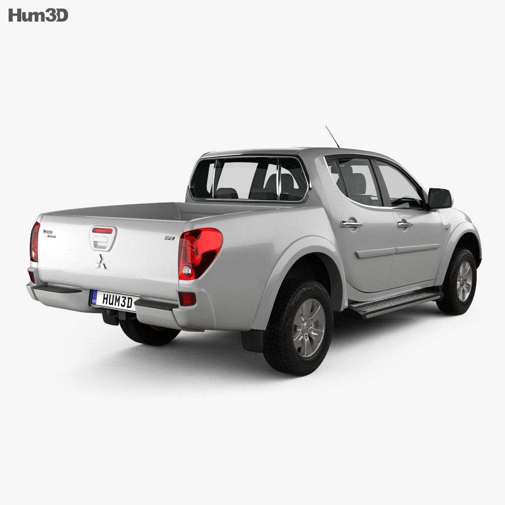 Mitsubishi L200 Triton Double Cab HPE 2012 3d model