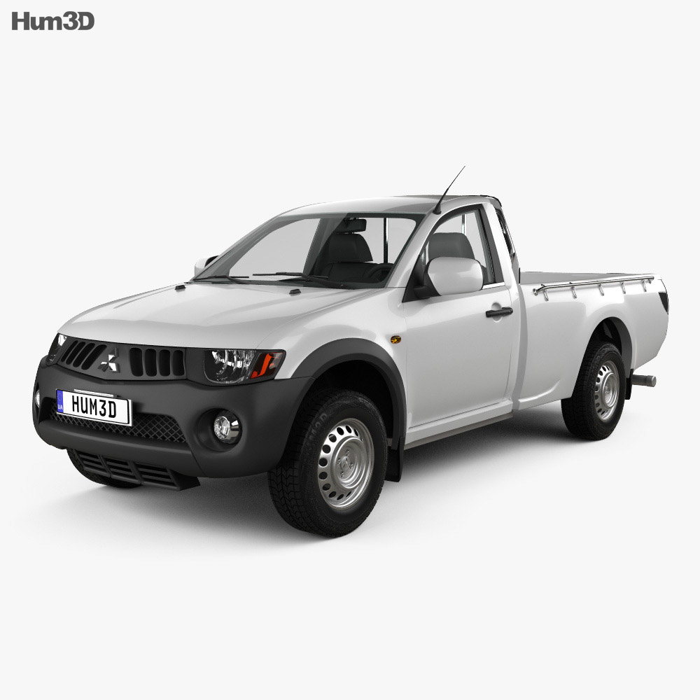 Mitsubishi L200 Triton Single Cab 2011 3d model