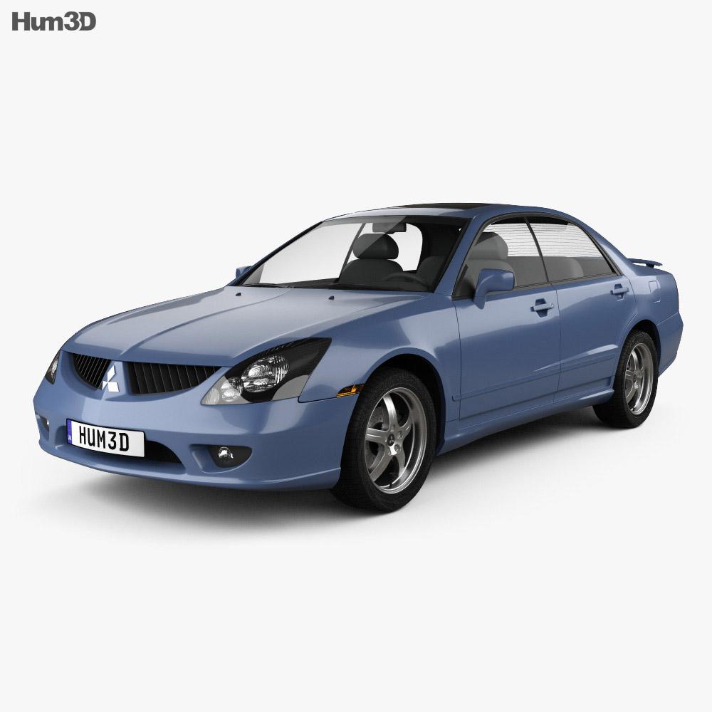 Mitsubishi Magna VR-X 2004 3d car model