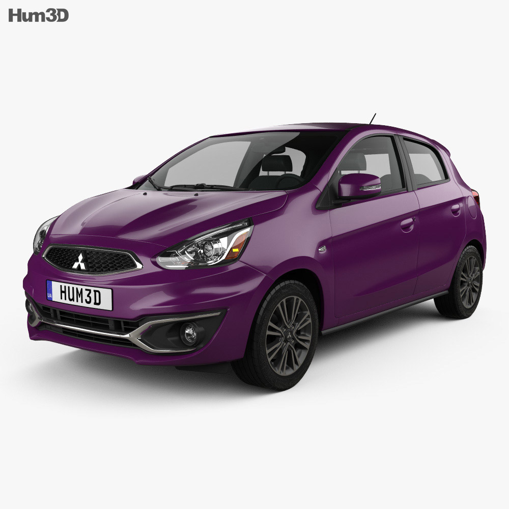 Mitsubishi Mirage GT 2017 3d model