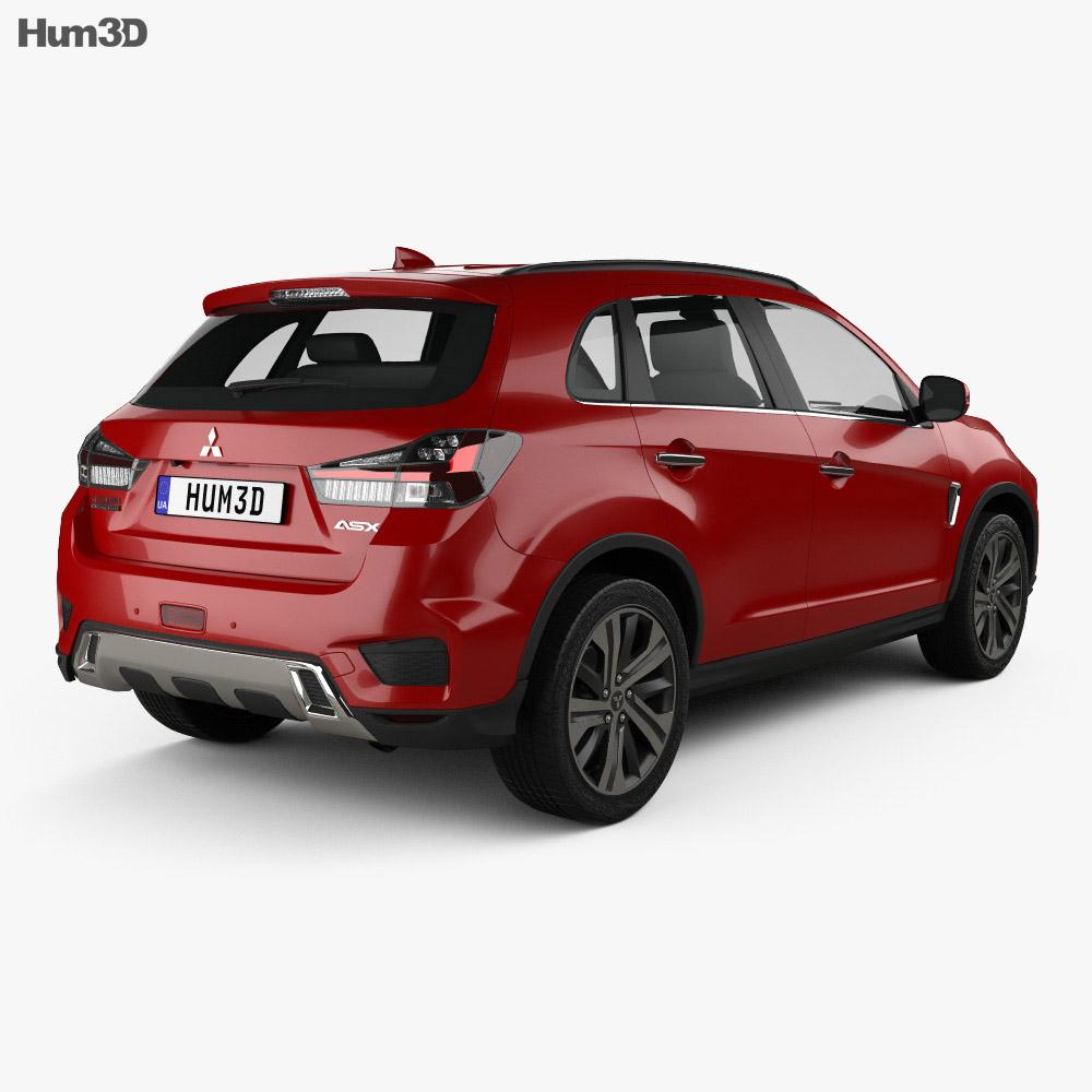 Mitsubishi ASX 2019 3d model