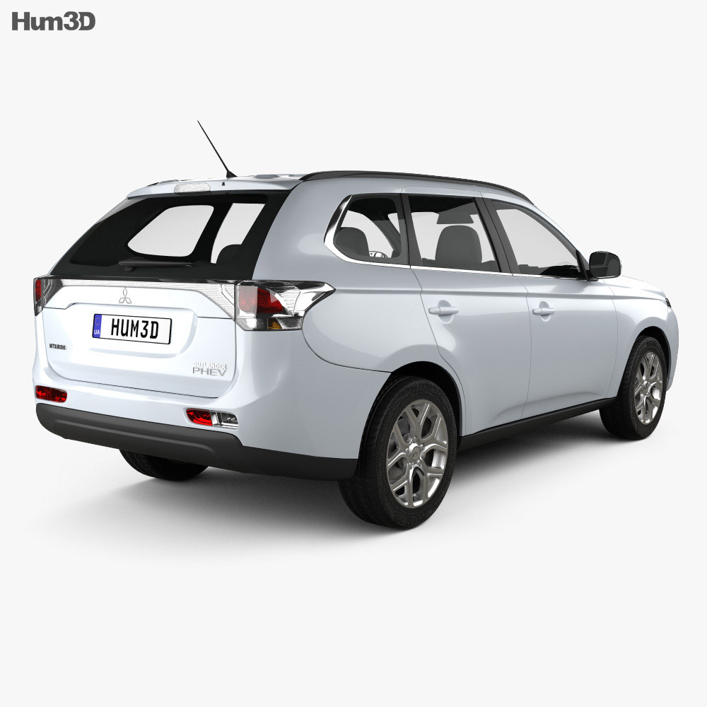 Mitsubishi Outlander PHEV 2013 3d model