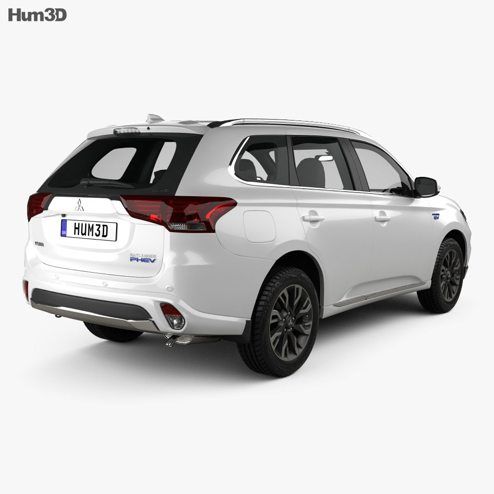 Mitsubishi Outlander PHEV 2015 3d model