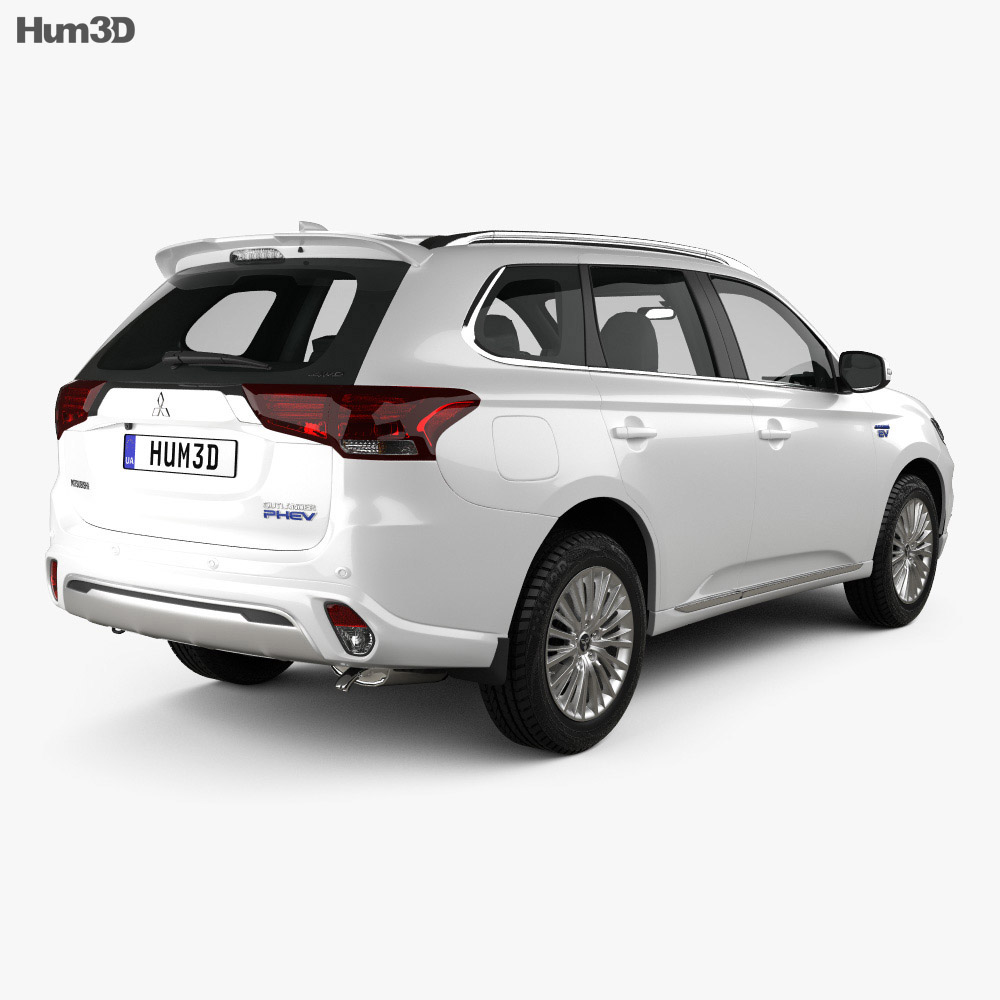 Mitsubishi Outlander PHEV 2018 3d model
