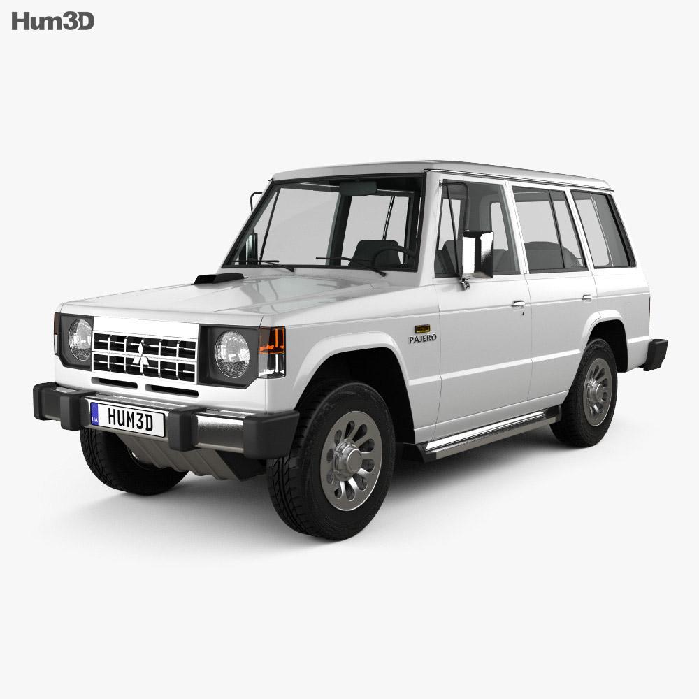 Mitsubishi Pajero (Montero) Wagon 1983 3D model