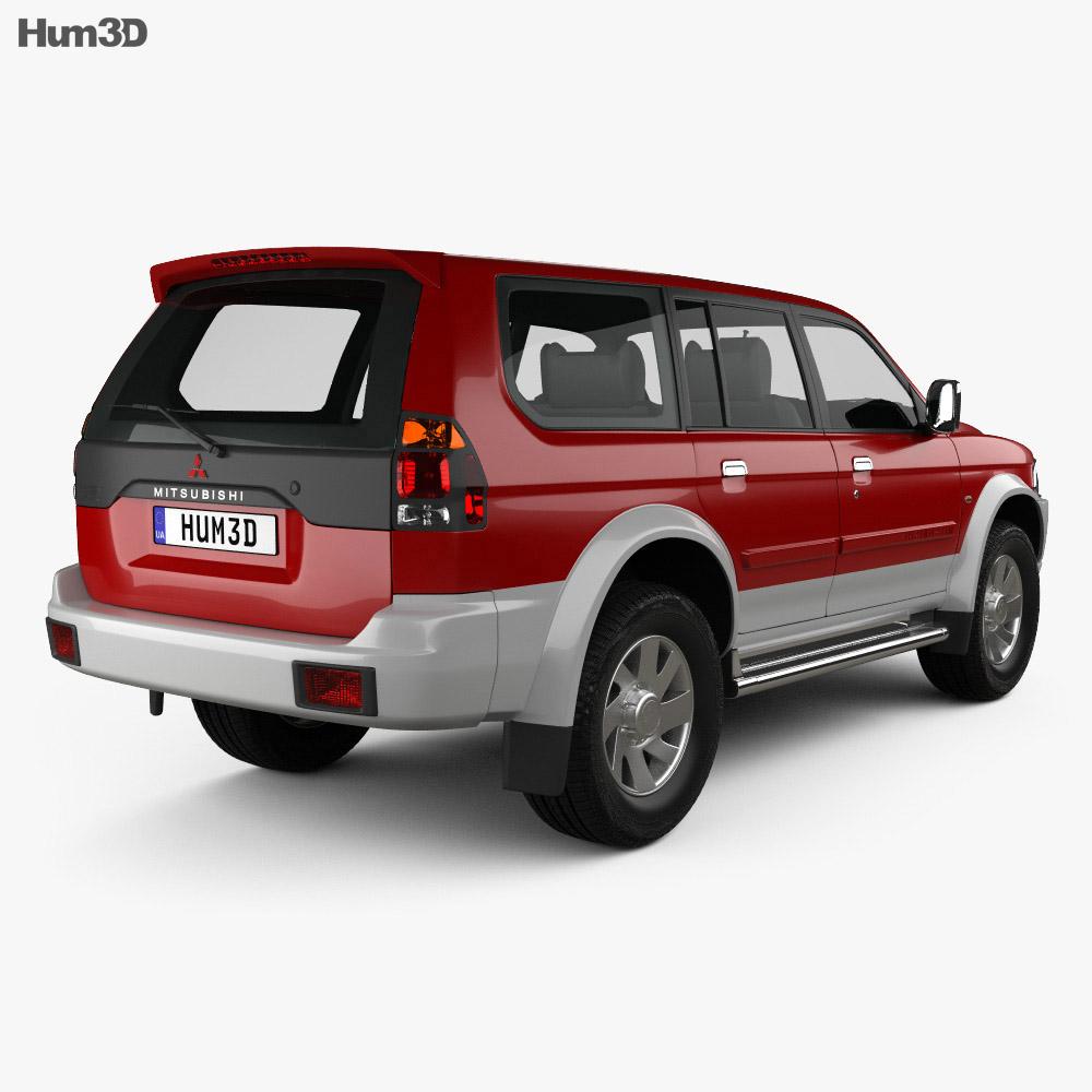 Mitsubishi Pajero Space: Mitsubishi Pajero Sport 1996 3D Model