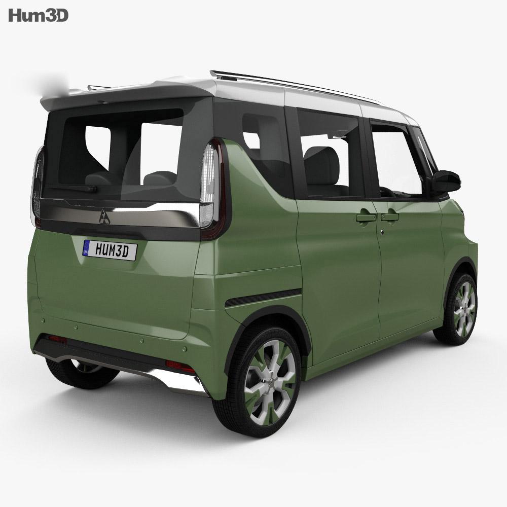 Mitsubishi Super Height K-Wagon 2019 3d model
