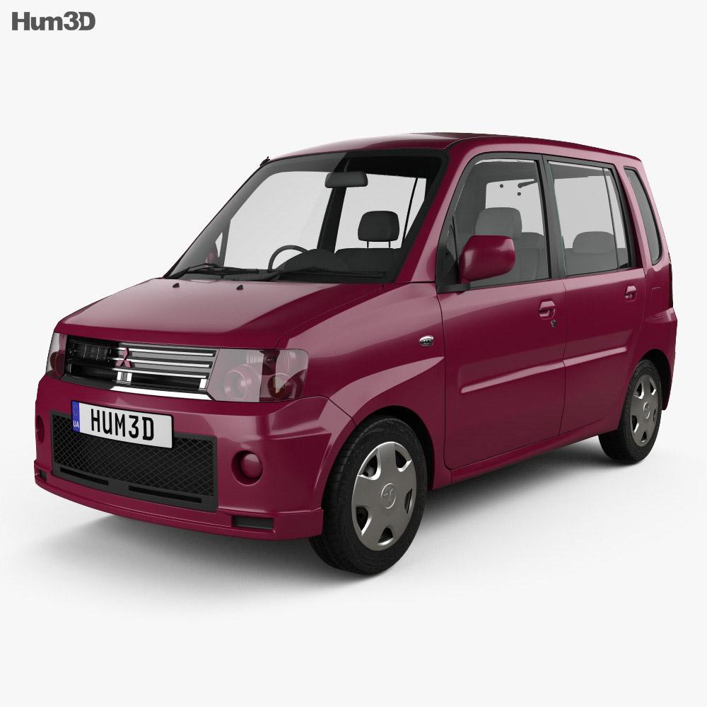 Mitsubishi Toppo 2008 3d model