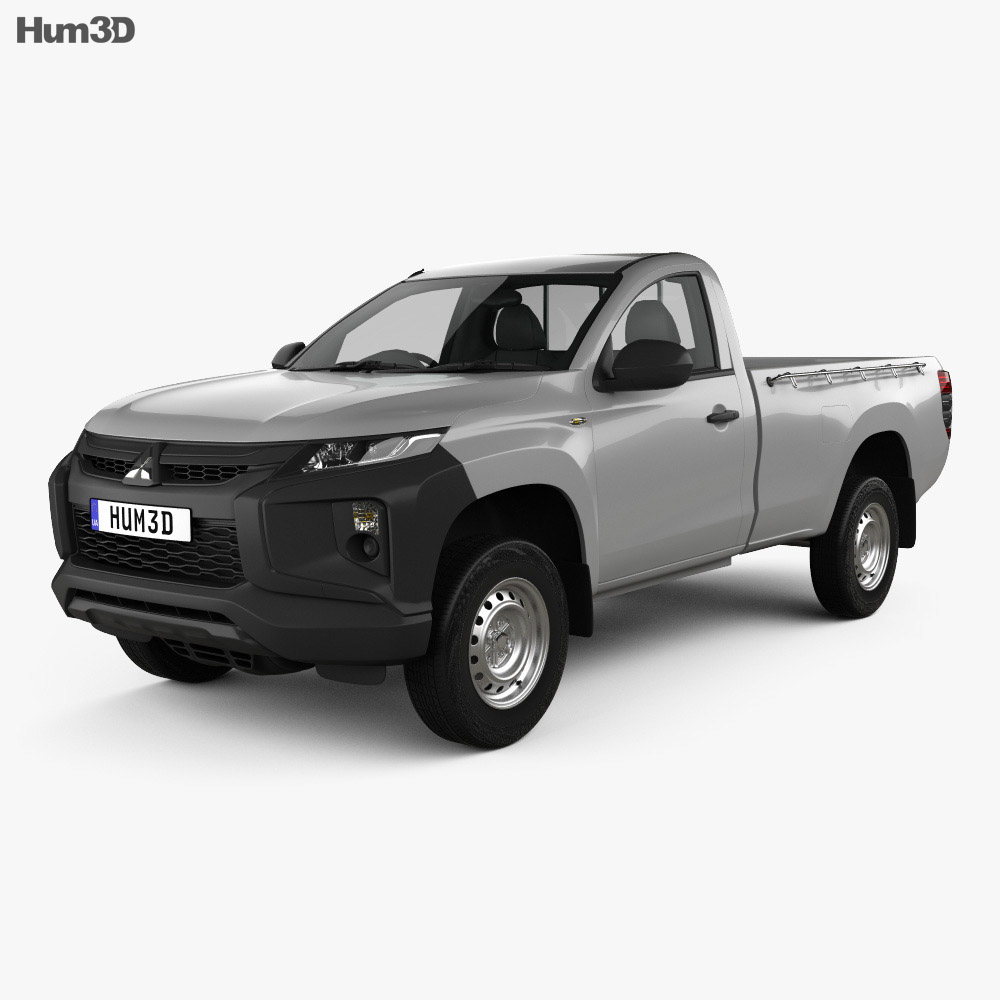Mitsubishi Triton Single Cab 2019 3d model