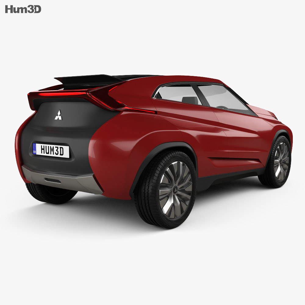 Mitsubishi XR-PHEV 2014 3d model